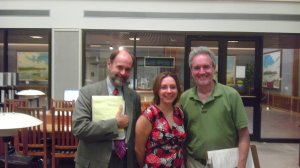 Right to left: Dan Viets, Amber Langston, Mark Pedersen